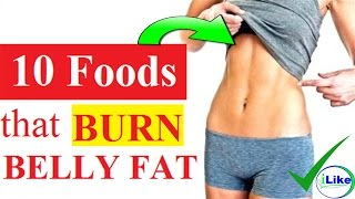 How to Lose Belly Fat Fast - 10 Best Fat Burning Foods to Eat