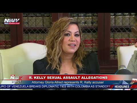 R. KELLY Accuser Speaks With Attorney Gloria Allred - YouTube