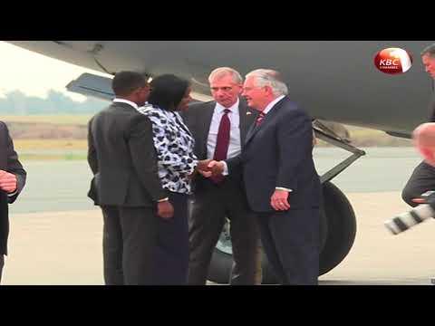 US Secretary of State Rex Tillerson visit to Kenya