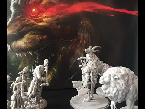 Part 2 of 2 - Screaming Antelope Level 1 - Kingdom Death: Monster 1.5 Full Solo Gameplay