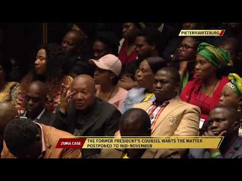 Former President Jacob Zuma appears in court for corruption