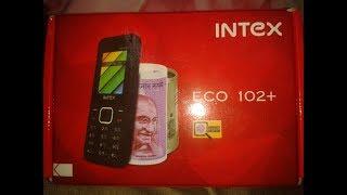 Intex eco 102 plus unboxing
