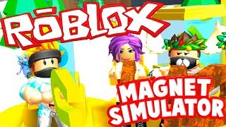 TAKING GOLD CURRENCIES ? MAGNET SIMULATOR ? ROBLOX