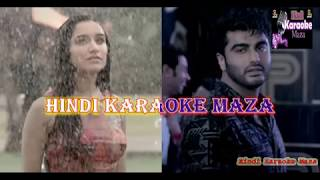 Baarish Half Girlfriend Karaoke With Hindi Lyrics Karaoke Intrumental Shraddha Kapoor Arjun Kapoor
