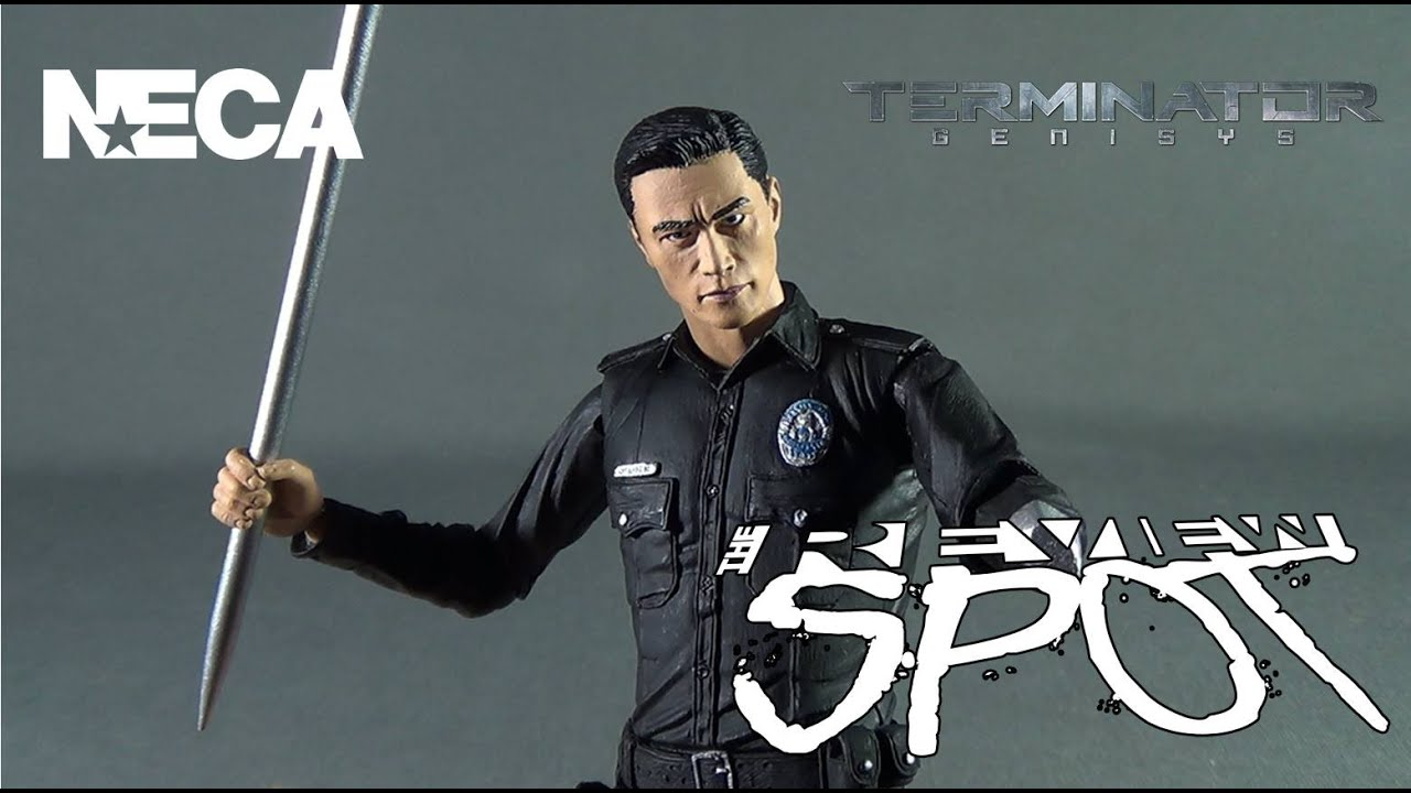 NECA Terminator Genisys T-800 Guardian /& T-1000 Police Disguise Action Figures