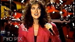 CÉLINE DION Where does my heart beat now Interview Entrevue Live En public 1991