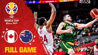 Boomers show their offencive power vs. Canada - Full Game - FIBA Basketball World Cup 2019