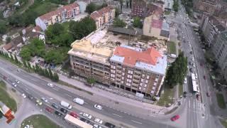Stambeni kompleks Garden Novi Sad, maj 2015.