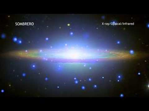 Sombrero Galaxy in 60 Seconds (in HIGH DEFINITION)