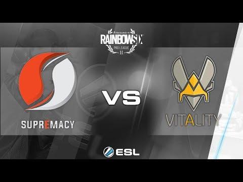Rainbow Six Pro League - Season 2 - PC - EU - Supremacy vs. Team Vitality - Week 3
