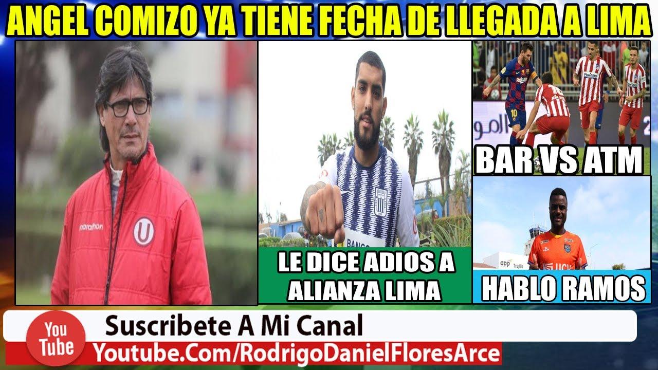 Angel Comizo ya tiene Fecha de llegada a Lima   Adrian Balboa se va de Alianza  Hablo Cristian Ramos