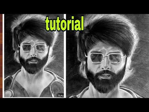 Kabir Singh sketch tutorial thumbnail
