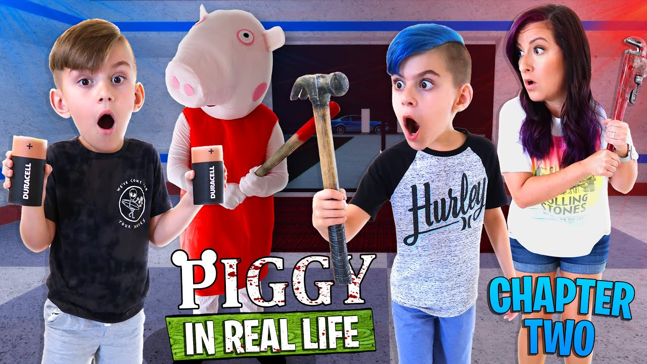 Roblox PIGGY In Real Life - Chapter 2 The Station (FUNhouse Family)