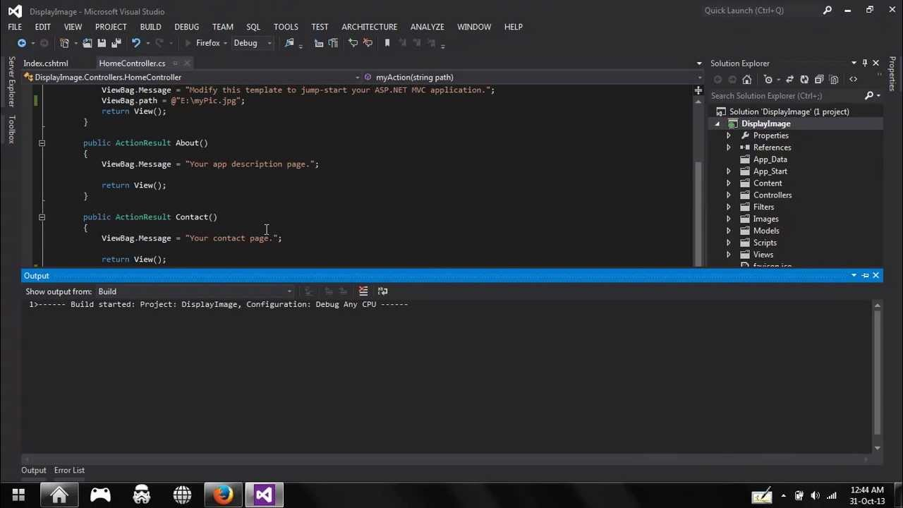 ASP NET MVC 4 - Image From a Byte Array