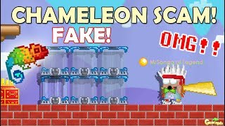 NEW CHAMELEON BLOCK SCAM!! [RIP WLS/DLS!!]OMG!! | GrowTopia