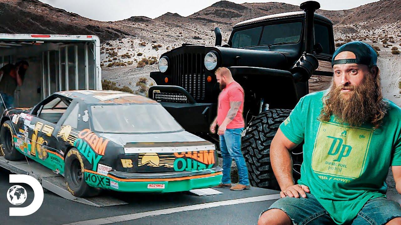 Grandes transformaciones de automóviles antiguos y famosos | Diesel Dave | Discovery Latinoamérica