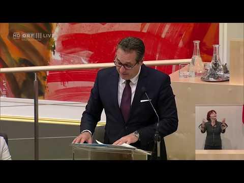 """Vizekanzler HC Strache [FPÖ] zerlegt die FakeNews der SPÖ zum """"12h Arbeitstag"""" [29.06.18]"""