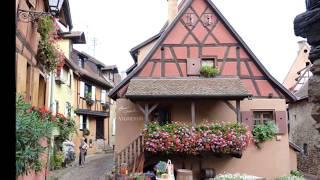 Voyage en camping car à Eguisheim Alsace