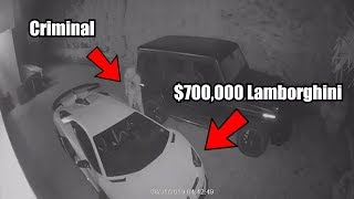 $700,000 Lamborghini THEFT Caught On Camera
