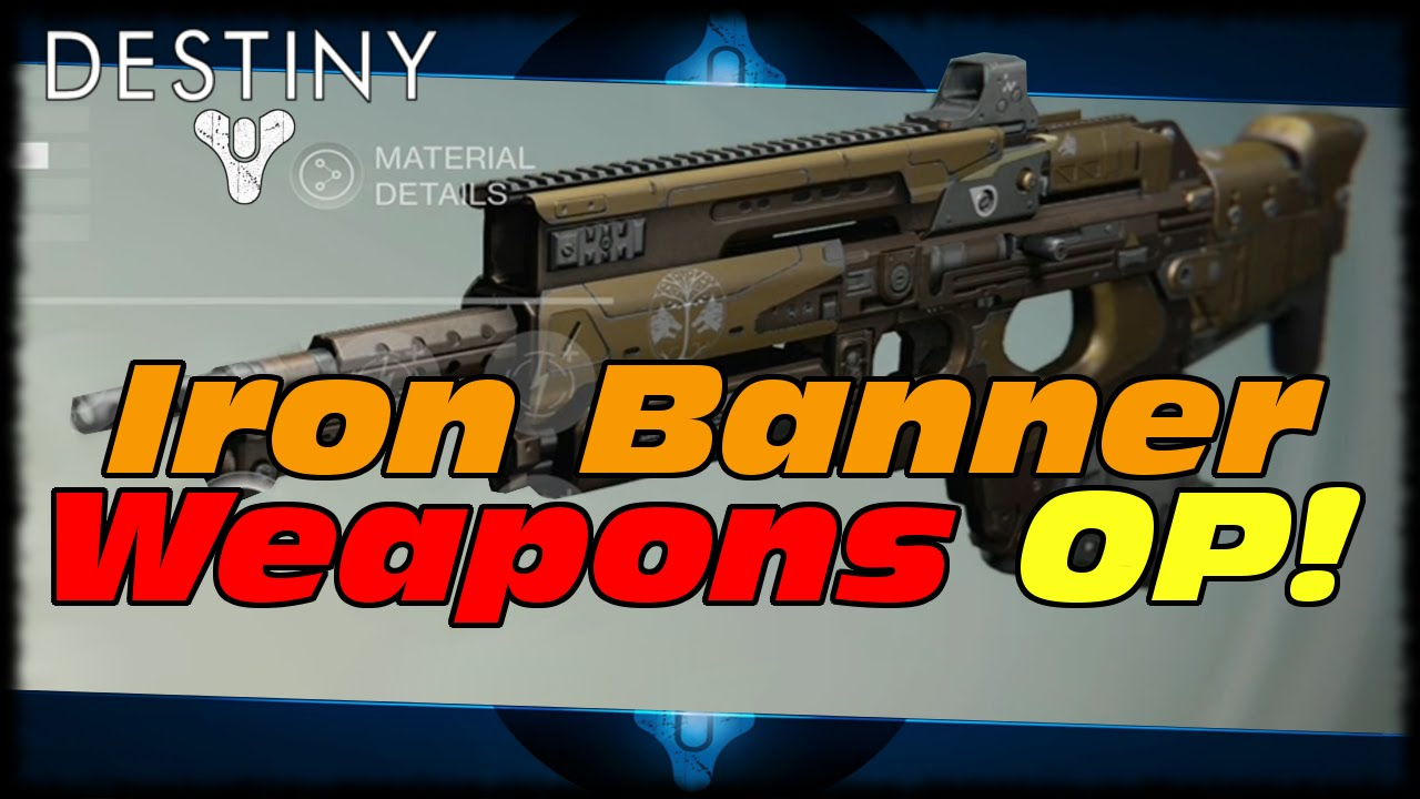 Best destiny primary weapons as of july 2015 - Destiny Iron Banner Weapons For Sale Have Op Perks Gheleon S Demise Felwinter S Lie