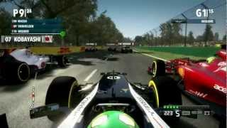 F1 2012 Gameplay Ita PC Gran Premio Australia Melbourne Gara - Una giornata da leoni -