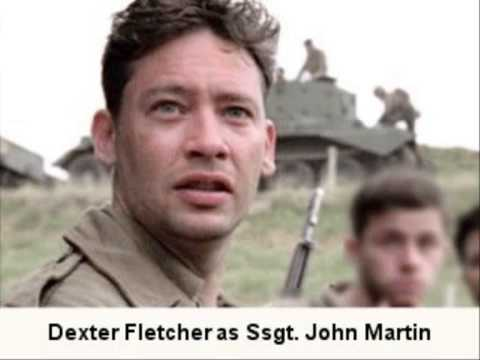 Dexter Fletcher Ssgt. John Martin  3 of 6: BAND OF BROTHERS CAST S 201011