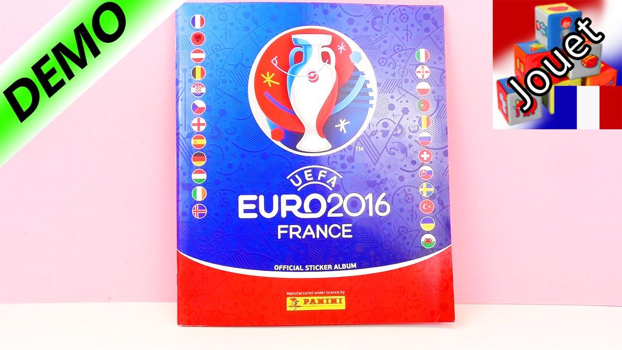 equipes europeennes panini uefa euro 2016 france cahier de stickers football