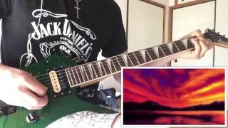 【バジリスクop】 陰陽座の甲賀忍法帖を弾いてみた。 (Guitar Cover)