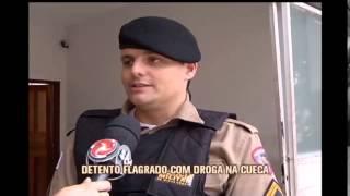 Detento é flagrado com droga escondida na cueca no Ceresp de Juiz de Fora