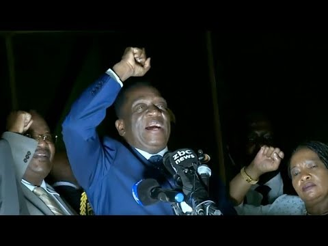 Ousted Zimbabwe Vice President returns to hero's welcome in Harare