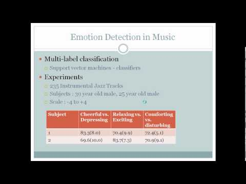 Machine learning approaches for music information retrieval