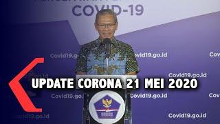 [Full] Update Corona 21 Mei: 20.162 Positif, 1.278 Meninggal Dunia, 4.838 Sembuh