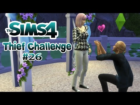 THIEF CHALLENGE • #26 - Der Heiratsantrag | Let's Play Die Sims 4