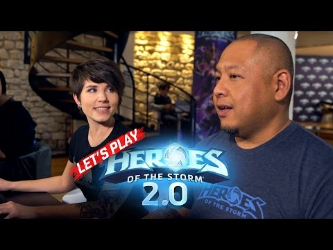 Let's Play Heroes 2.0 with the Devs