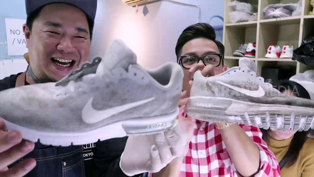 Tips Cara Bersihkan Sepatu Jadi Seperti Baru Lagi Tau Gak Sih Youtube