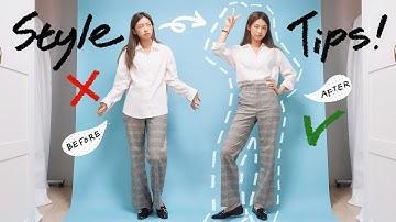 [ENG] 꼭 알아야할! 셔츠 핏 날씬하게 입는 코디 꿀팁 5가지💡 STYLING TIPS