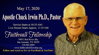 "Apostle Chuck Irwin - ""The Tribulation The Great"" Part 2"