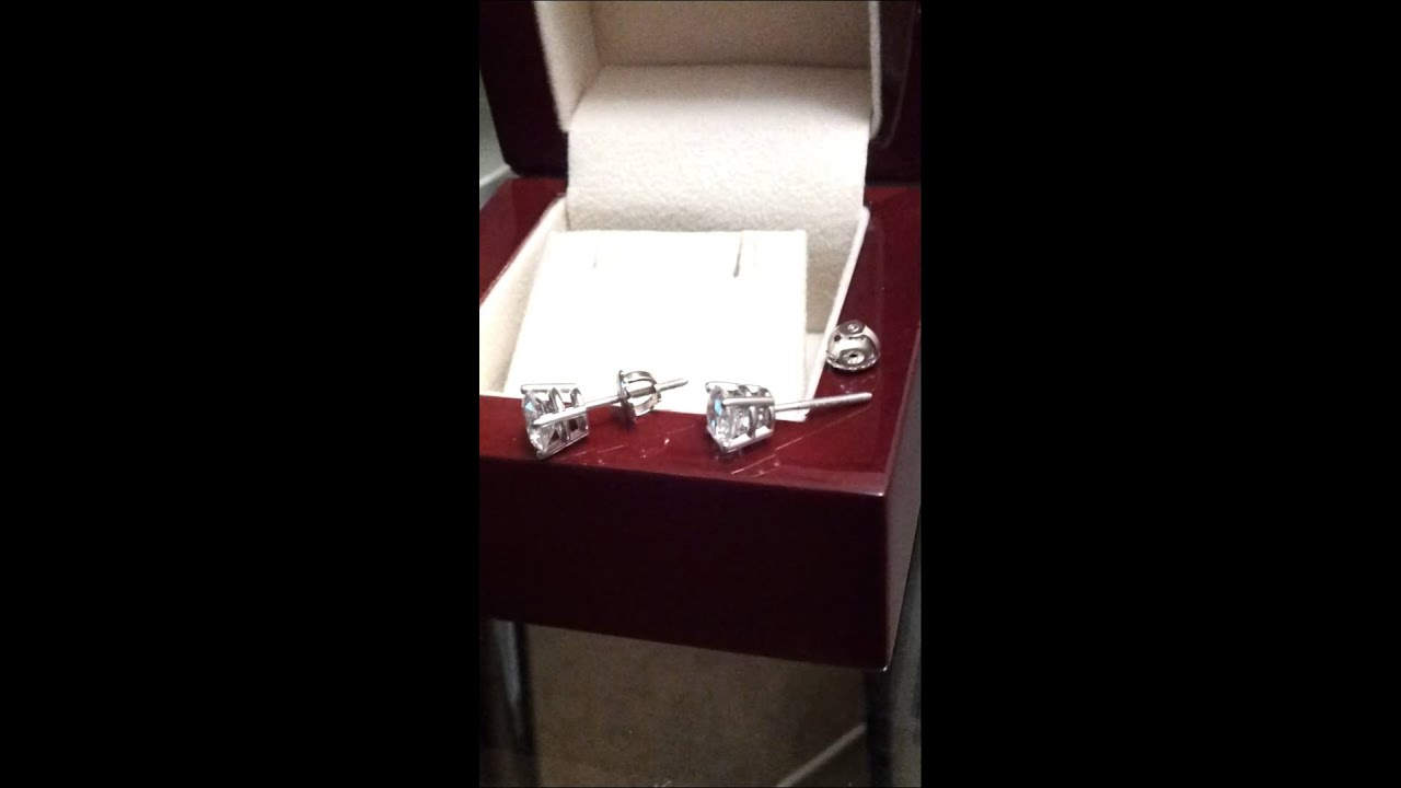 Round Cut Stud Earrings From Diamond Nexus