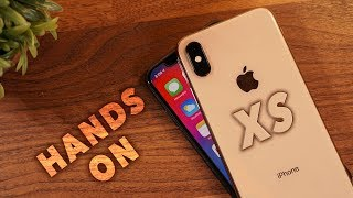 iPhone XS Unboxing & Hands-On | Gold Edition