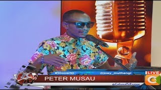 Acoustic sound master Peter Musau speaks out #10Over10