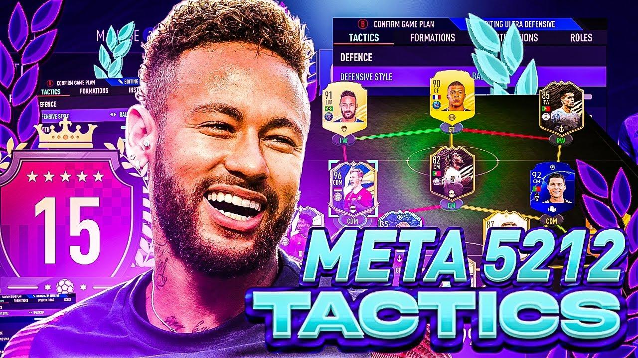 Download TOP 200 *META* 5-2-1-2 CUSTOM TACTICS & INSTRUCTIONS! 🔥 - FIFA 21 Ultimate Team