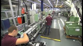 Mercedes-Benz Engine Production