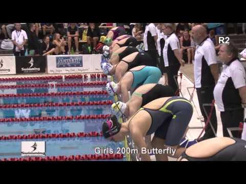 finals 37 - Girls 200m Butterfly