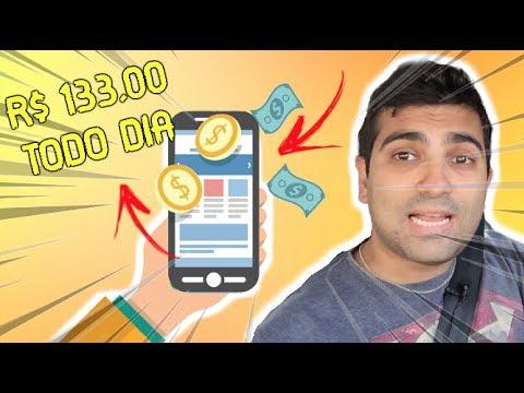 Como Ganhar R$ 133,00 Todo Dia Instalando Esse Aplicativo No Seu Celular Ou Computador Ou Tablet