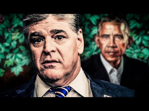 Sean Hannity Publishes & Promptly Deletes Insane Conspiracy Theory About Obama Painting
