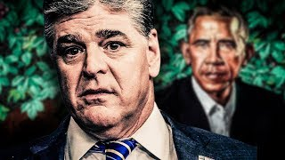 Sean Hannity Publishes & Promptly Deletes Insane Conspiracy Theory About Obama Painting thumbnail