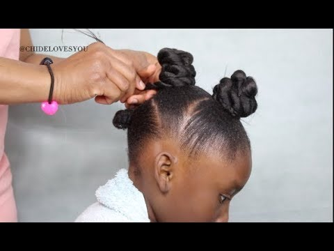 QUICK HAIRSTYLE FOR NATURAL HAIR KIDS