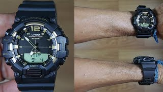 CASIO STANDARD HDC-700-9A BLACK GOLD - UNBOXING