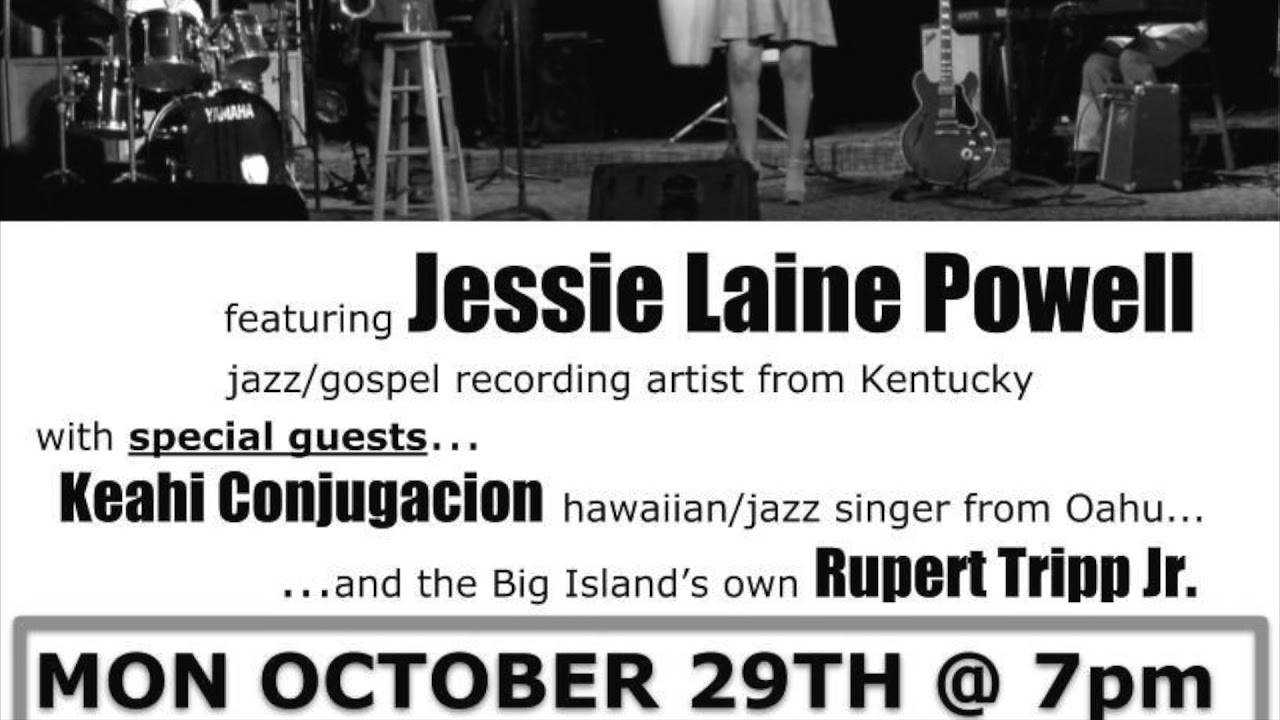 2018 Gospel Jazz Night radio ad - Christ Lutheran Church - Hilo, Hawaii
