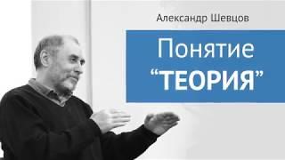 "Александр Шевцов. Понятие ""Теория"""